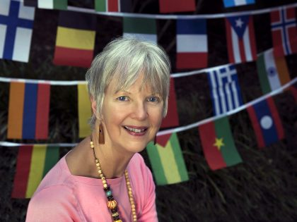 Lynda Wilson is in our Volunteer Spotlight this July and August.