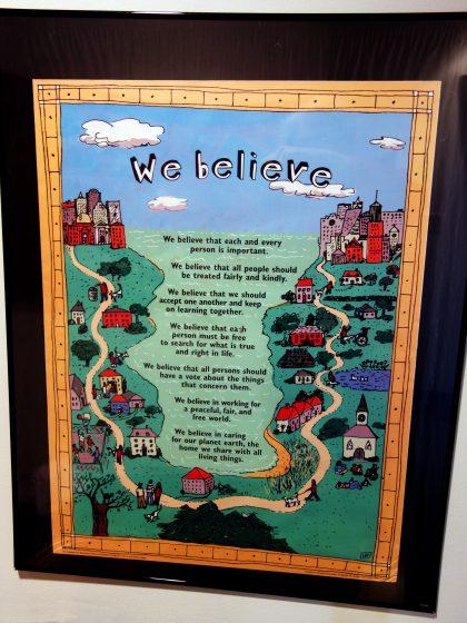 Unitarian Universalist principles for children