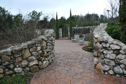 Our memorial garden offers a serene setting for events.